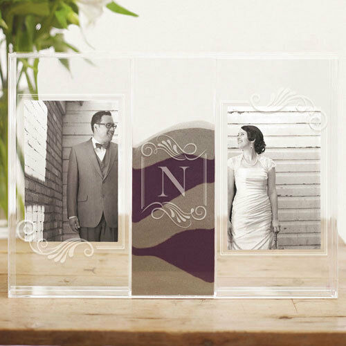 personalized wedding unity sand ceremony clearly love