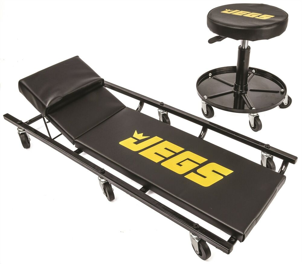 Jegs Performance Products 81160 Creeper And Air Seat Set