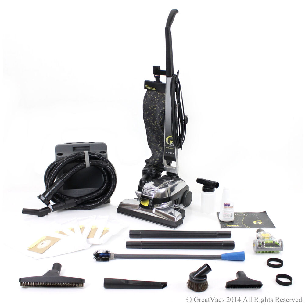 Reconditioned Kirby Gsix G6 Upright Vacuum New Tools