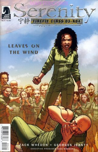 Serenity 4 Leaves On The Wind Zack Whedon Dark Horse Comic Book