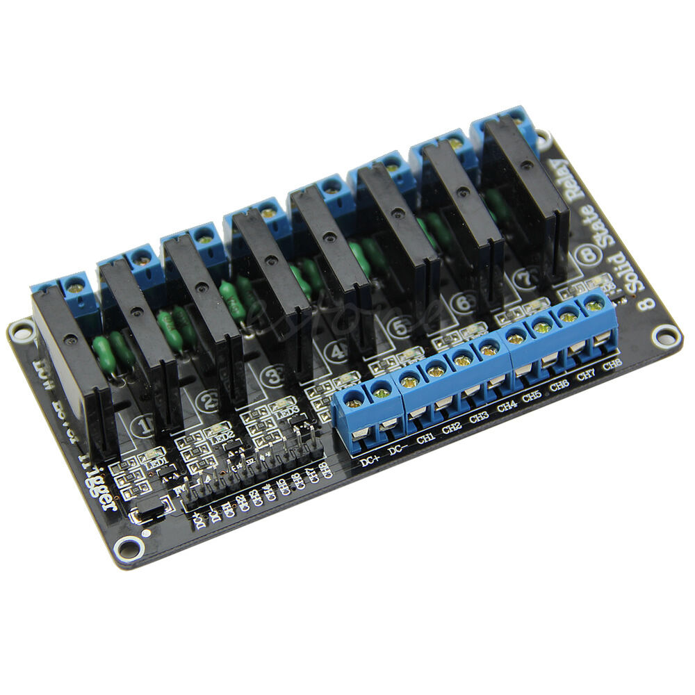 V a channel low level trigger solid state relay