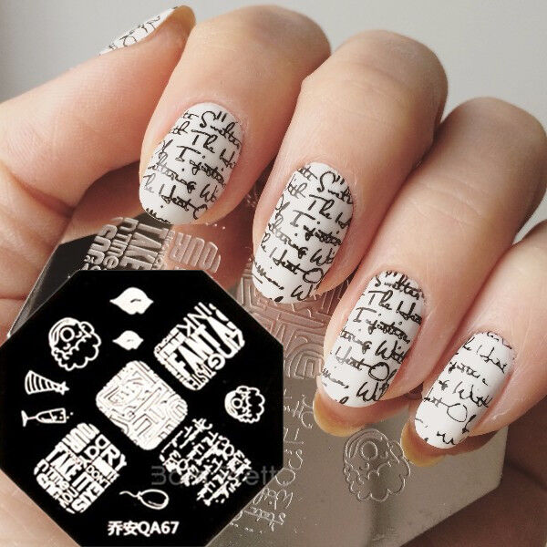 Nail art designs with stamps stamping nail art ideas on pretty nails view images nail art stamp prinsesfo Image collections