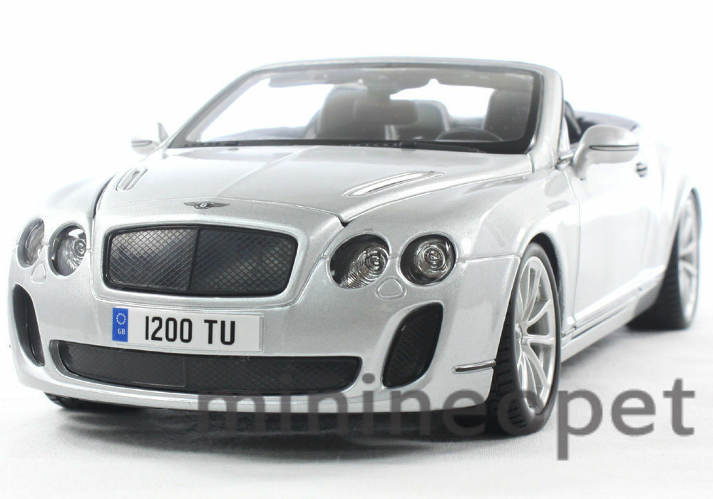 bburago 2012 2013 bentley continental supersports convertible 1 18. Cars Review. Best American Auto & Cars Review