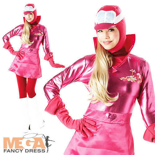 Elegant  1618 Ladies Fancy Dress TV Cartoon Character Halloween Womens Costume