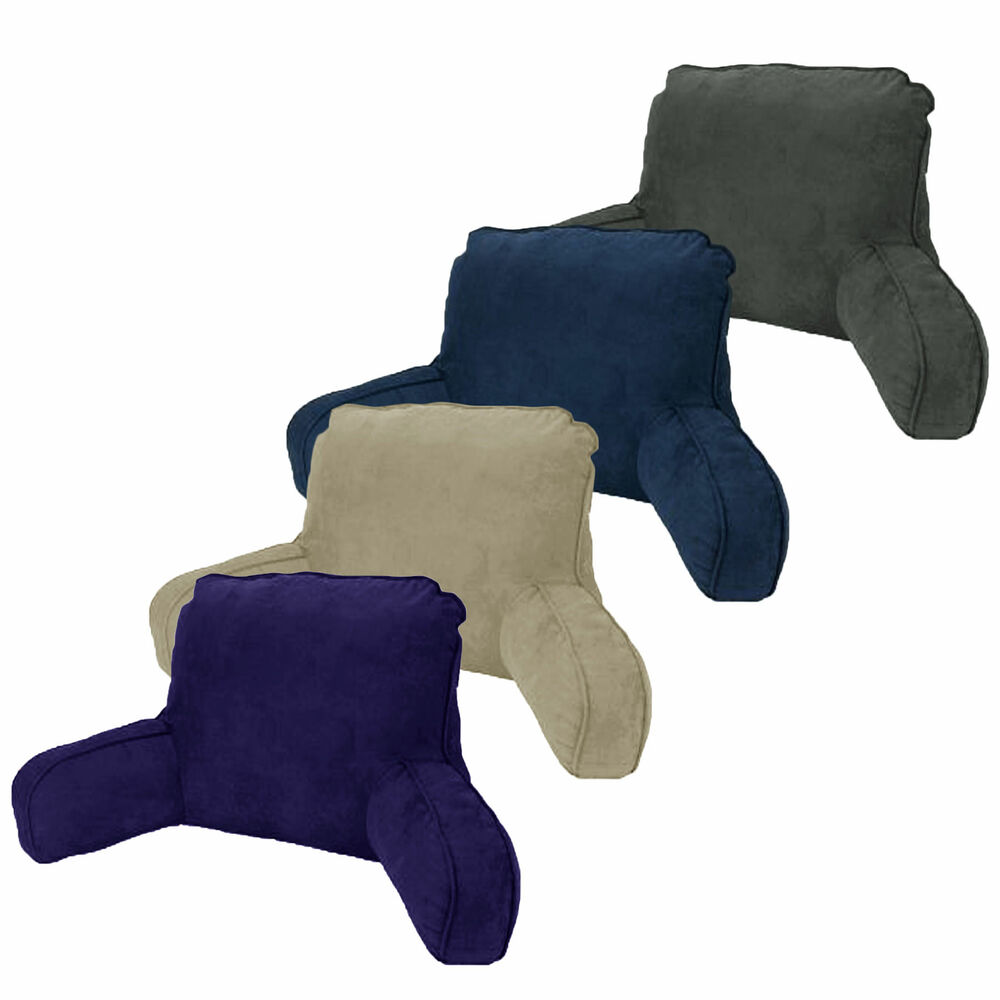Made In Australia Micro Suede Standard Backrest Pillow
