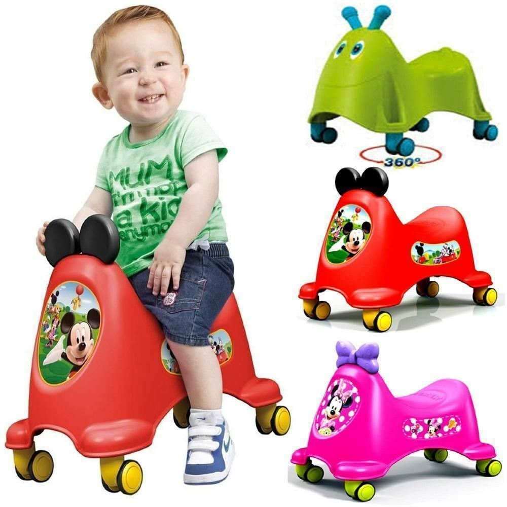 Feber Runy Foot To Floor Ride On Toddler Infant Kids Car
