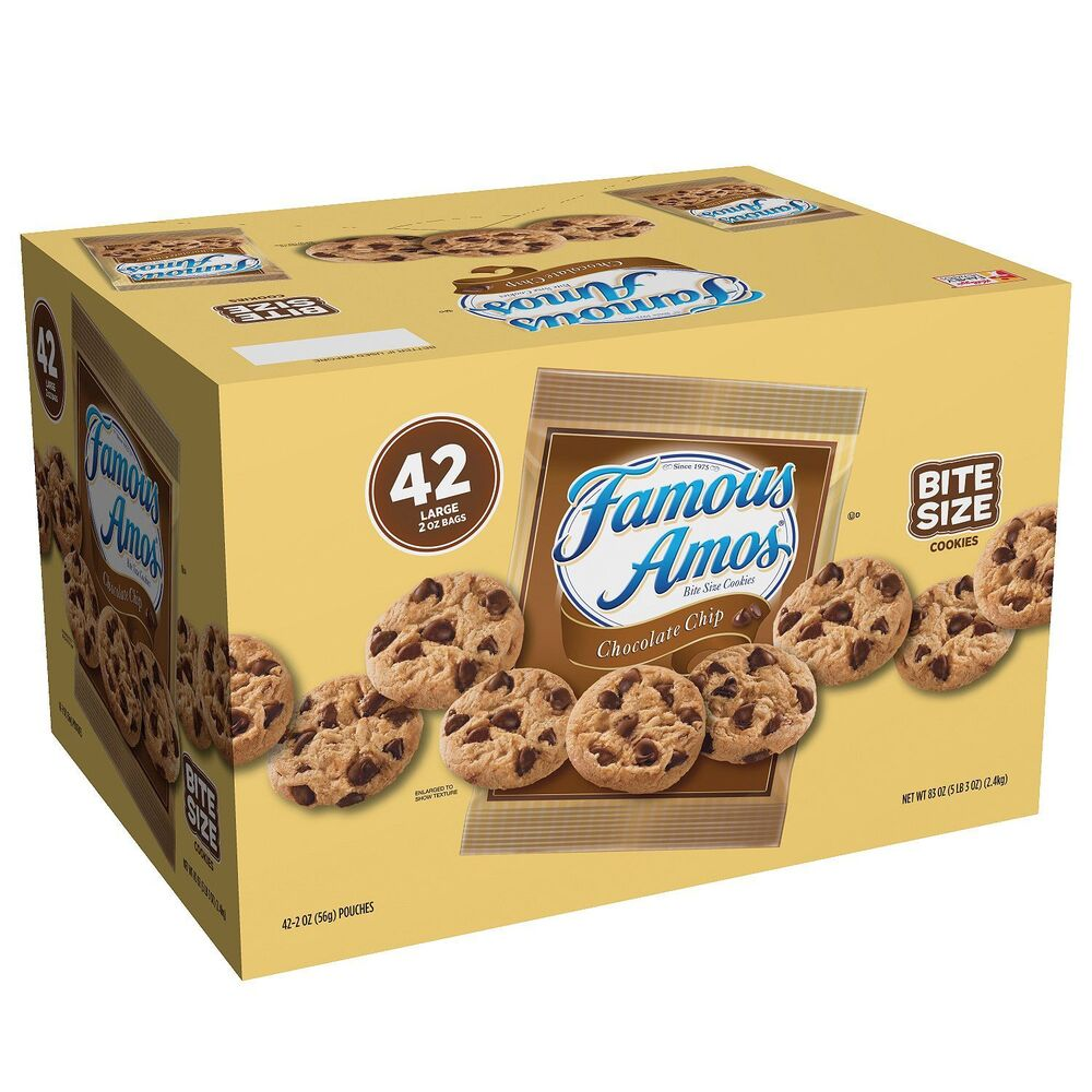 Chocolate chip bag size