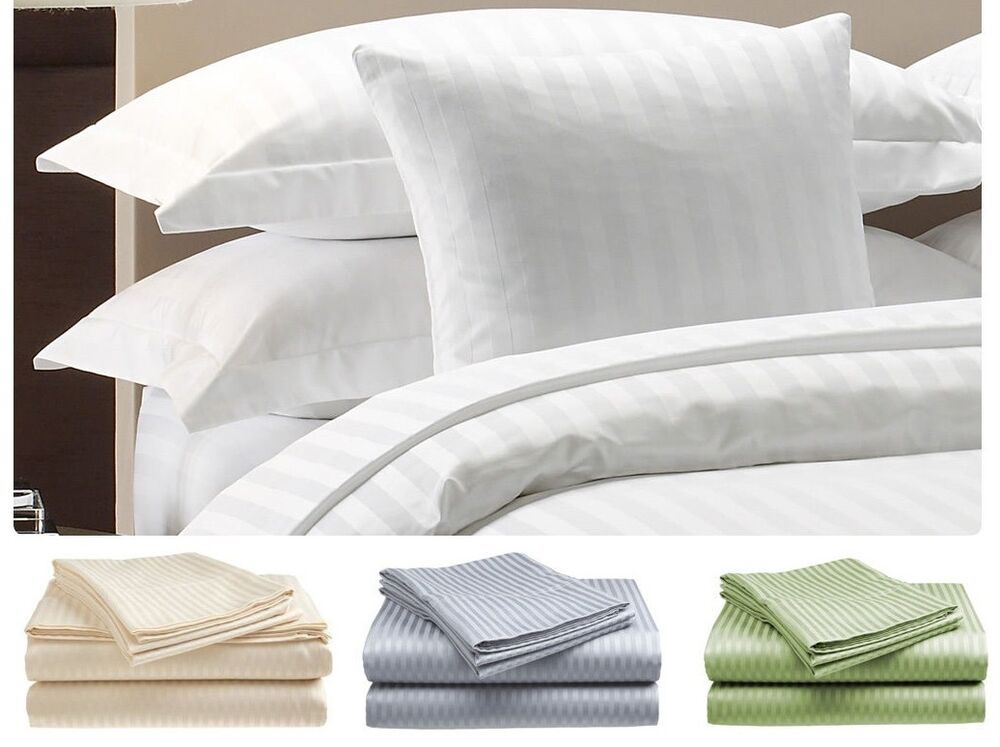 hotel collection sheets 400 thread count 100 cotton sheet sets dobby stripe 31123
