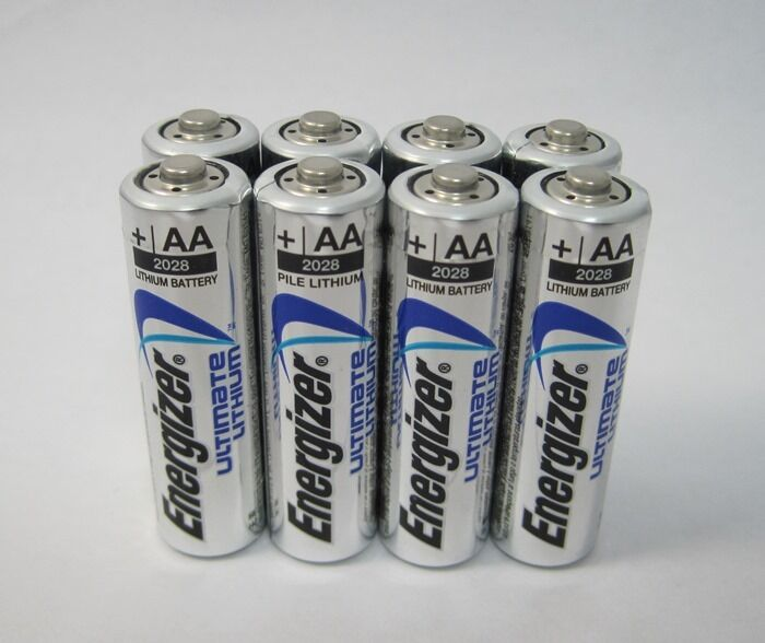 8 energizer ultimate lithium aa batteries ebay. Black Bedroom Furniture Sets. Home Design Ideas
