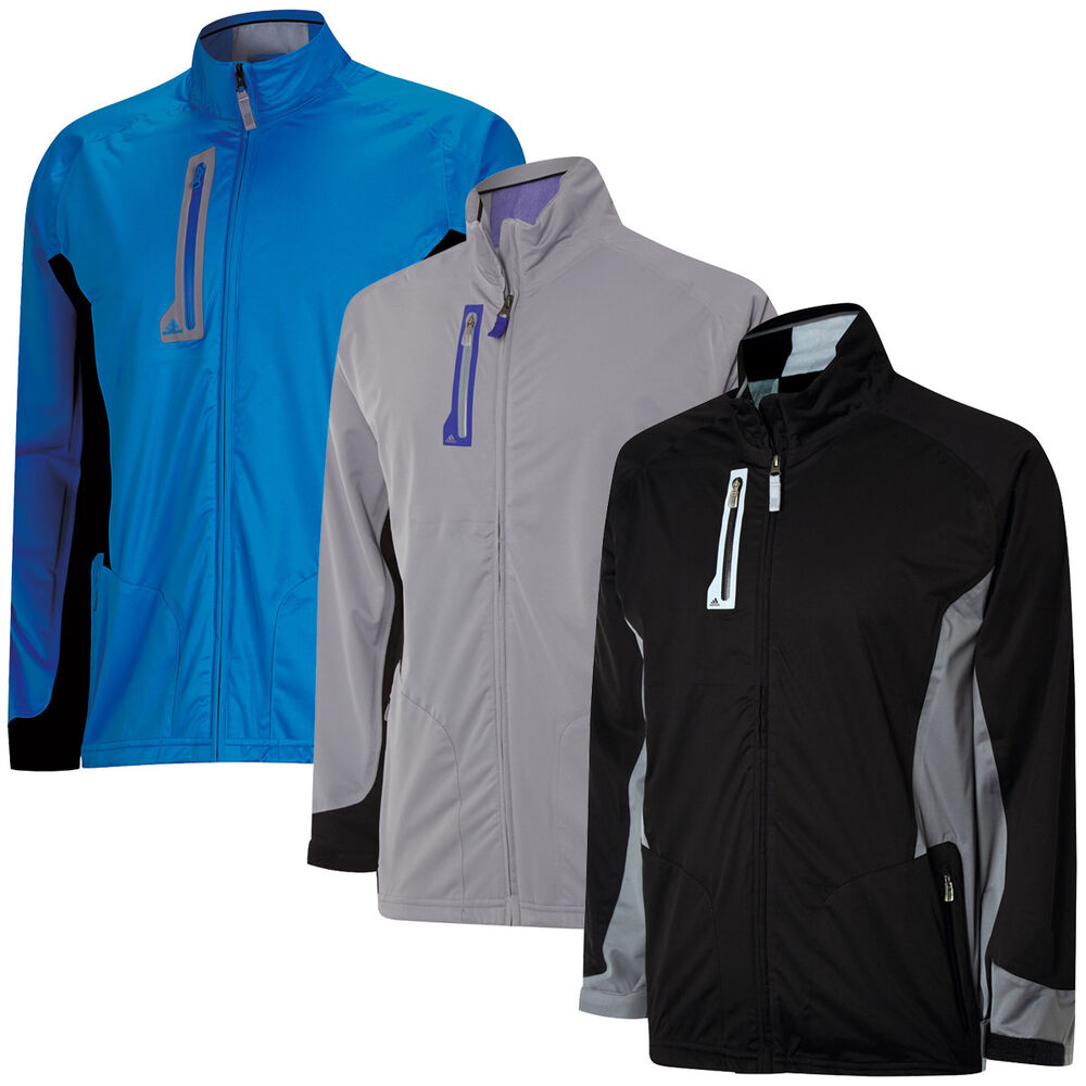 Adidas golf mens climaproof advance rain jacket waterproof for Adidas golf rain shirt