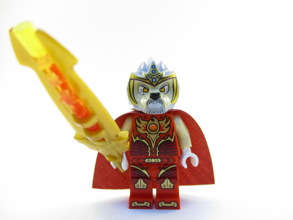 LEGO Legends of Chima Lagravis Minifigure with Fire Weapon ...