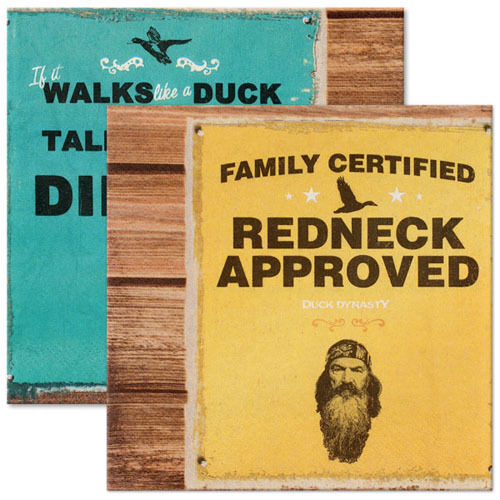 Details about DUCK DYNASTY LUNCH NAPKINS (16) ~ Birthday Party Supplies Dinner Large Robertson