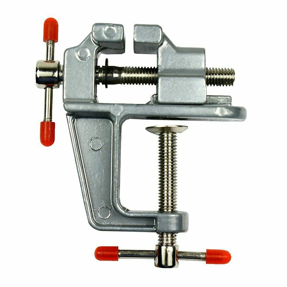 """3.5"""" Miniature Vise Small Jewelers Hobby Clamp On Table ..."""