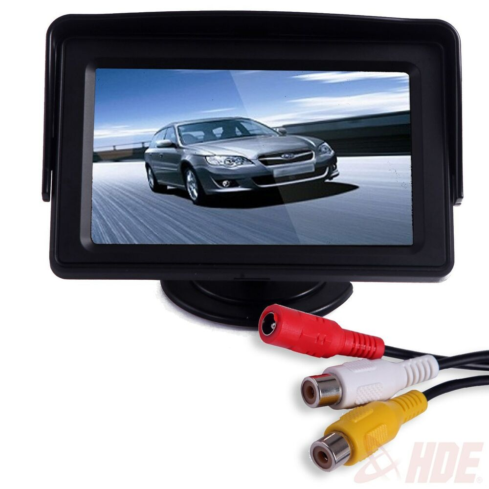 4 3 lcd car dashboard color monitor for rearview vehicle. Black Bedroom Furniture Sets. Home Design Ideas