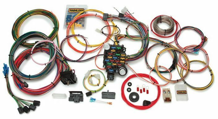 painless wiring harness 10205 painless fuse box wiring