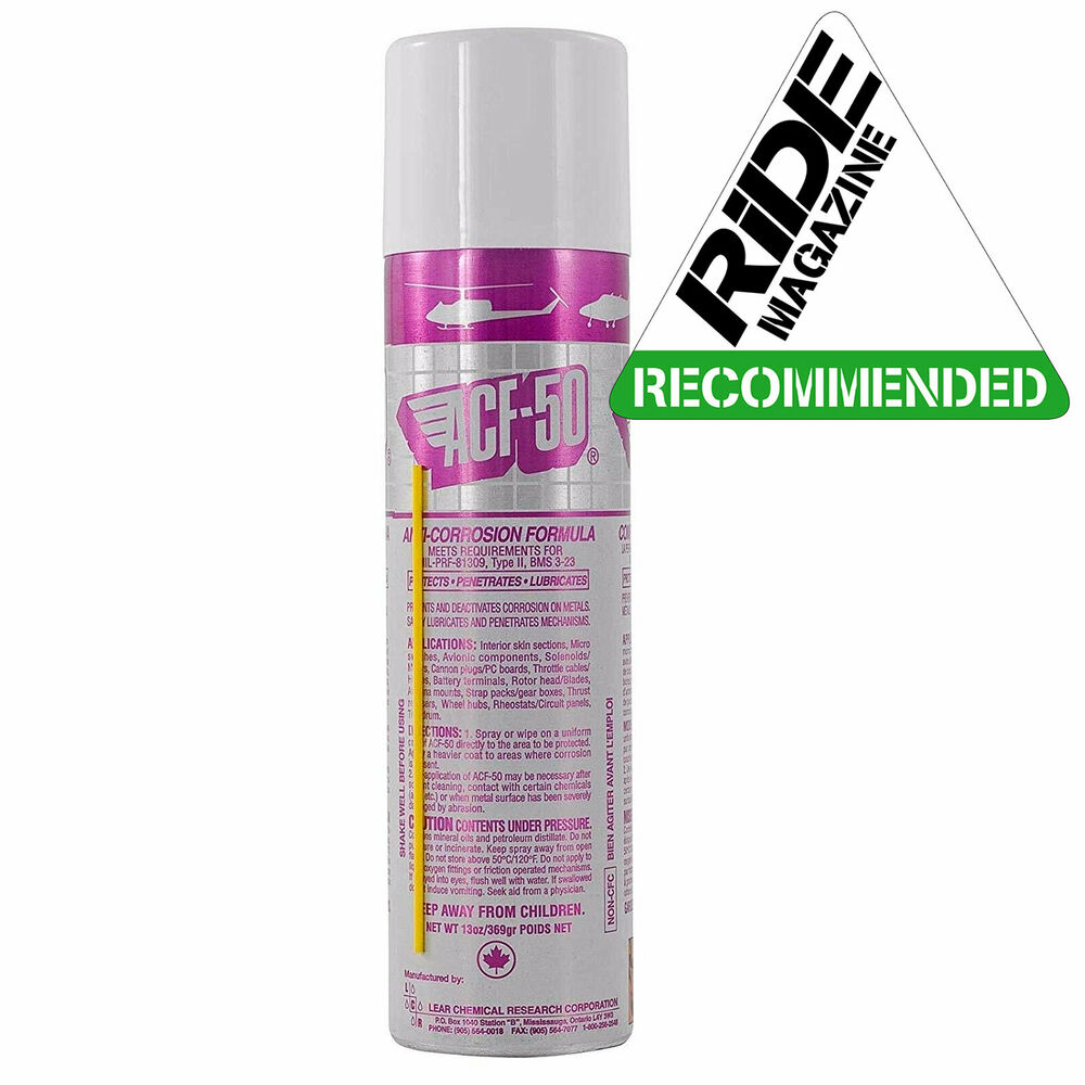 acf 50 anti corrosion scooter spray protection acf50 ebay. Black Bedroom Furniture Sets. Home Design Ideas