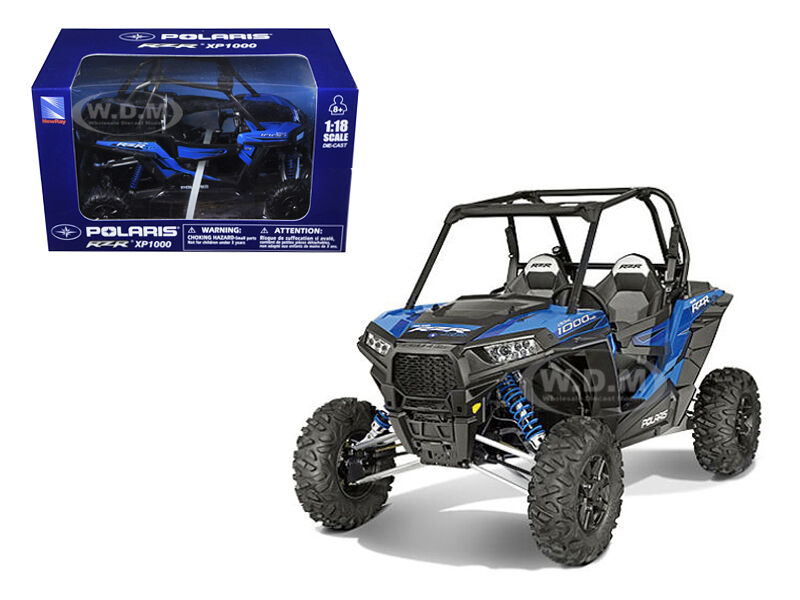 polaris rzr xp 1000 dune buggy model blue 1 18 by new ray 57593 b ebay. Black Bedroom Furniture Sets. Home Design Ideas