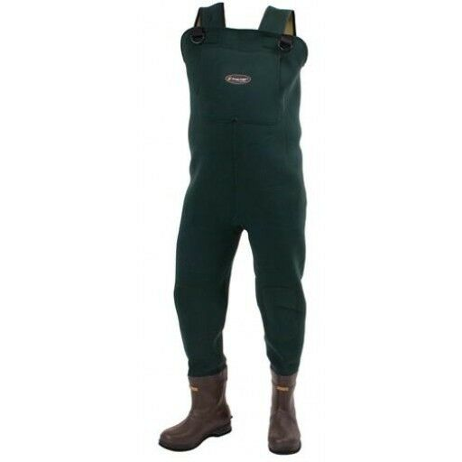 Frogg toggs amphib neoprene bootfoot waders sizes 9 14 for Men s fishing waders