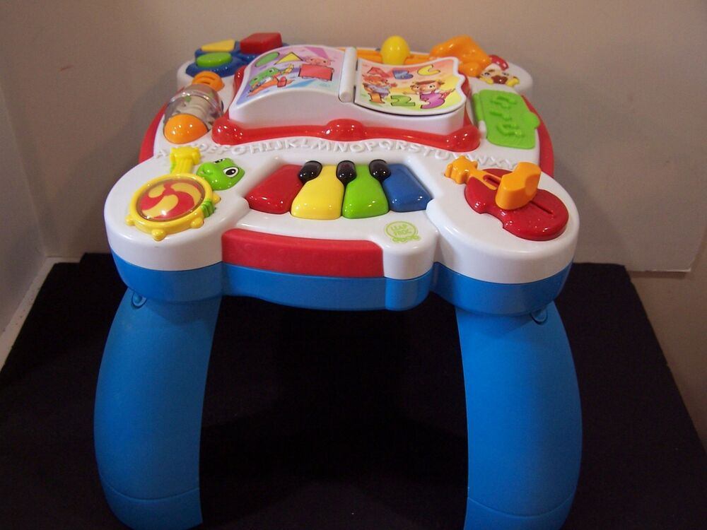 Leapfrog Learn U0026 Groove Musical Activity Table English Spanish Baby Toddler  Toy | EBay