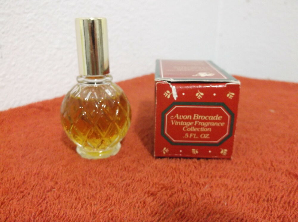 vintage brocade cologne by avon n y n y 0 5 fl oz w box 2 ebay. Black Bedroom Furniture Sets. Home Design Ideas