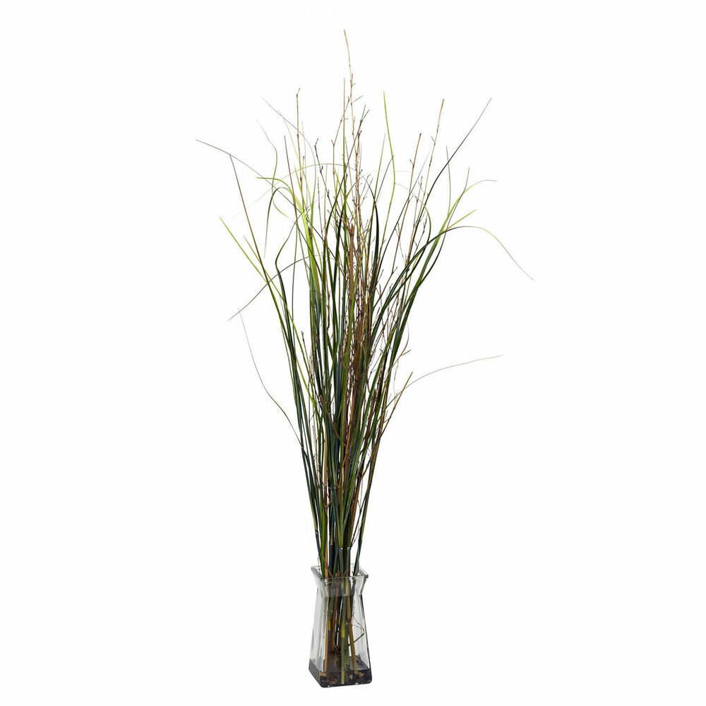 46 artificial silk fake grass bamboo plant arrangement for Faux bambou plante