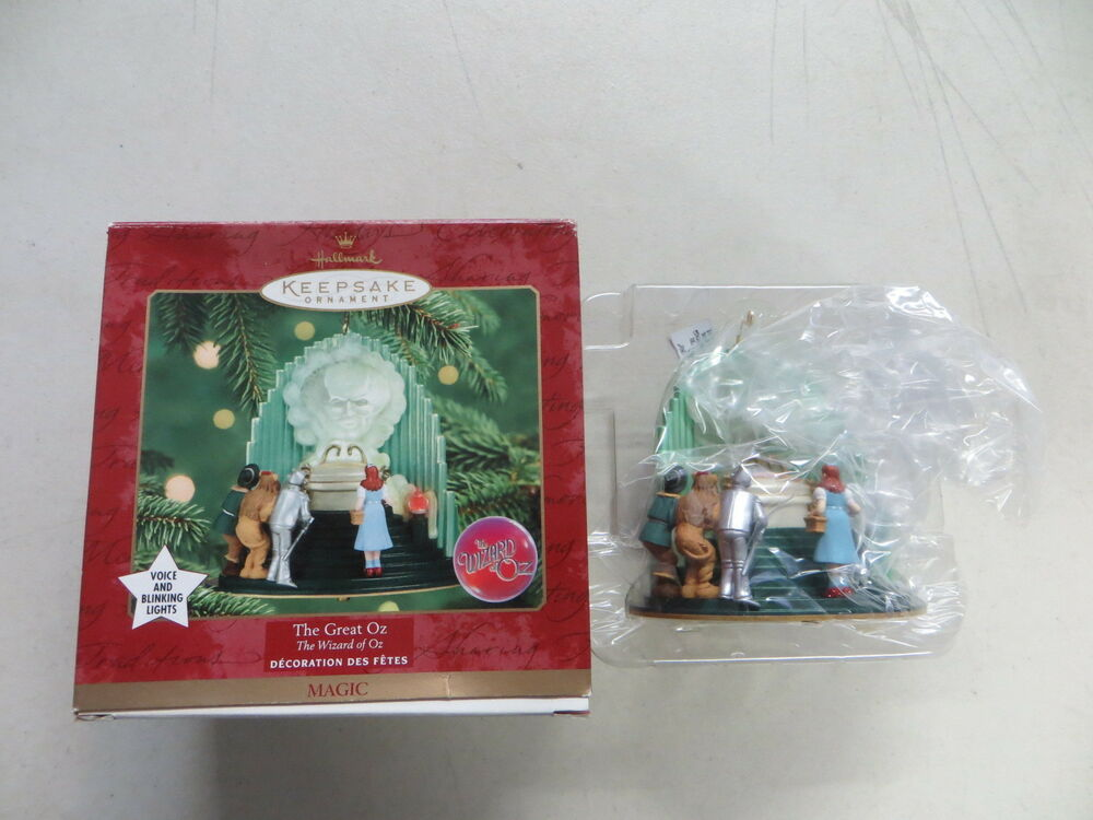 Wizard Of Oz Christmas Tree Ornaments