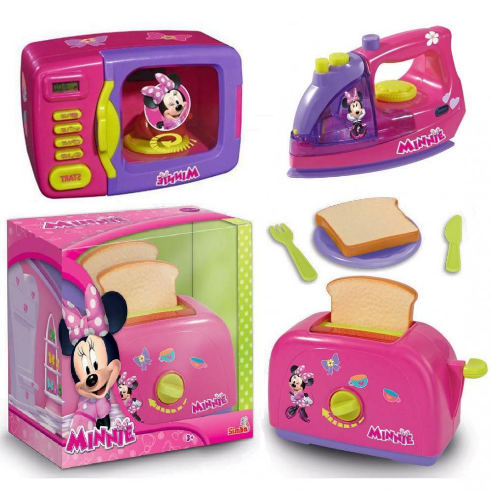 disney minnie mouse pink kitchen cooking play