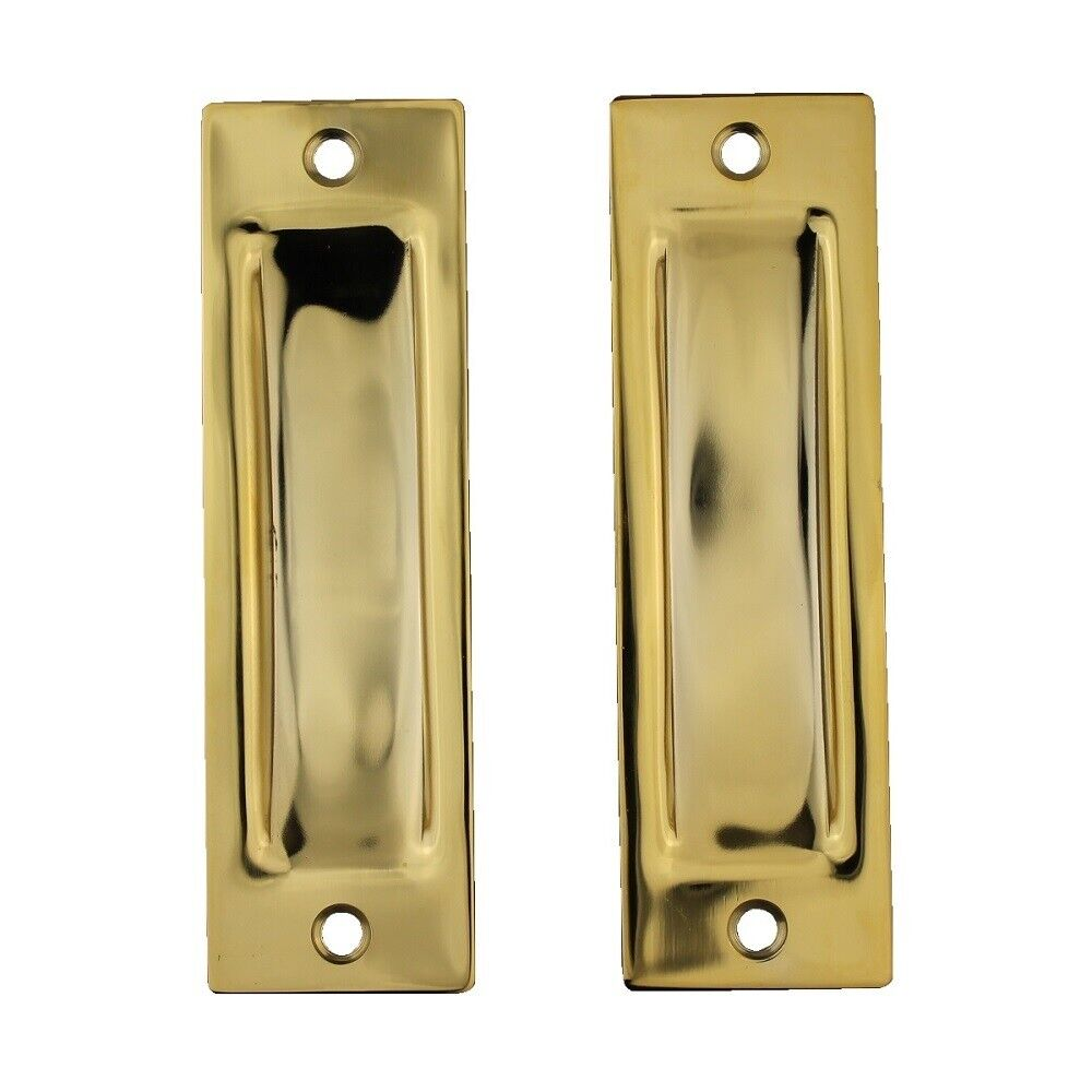 Trio Door Flush Pull Bwsdfp115eb 114x34mm Square Visible