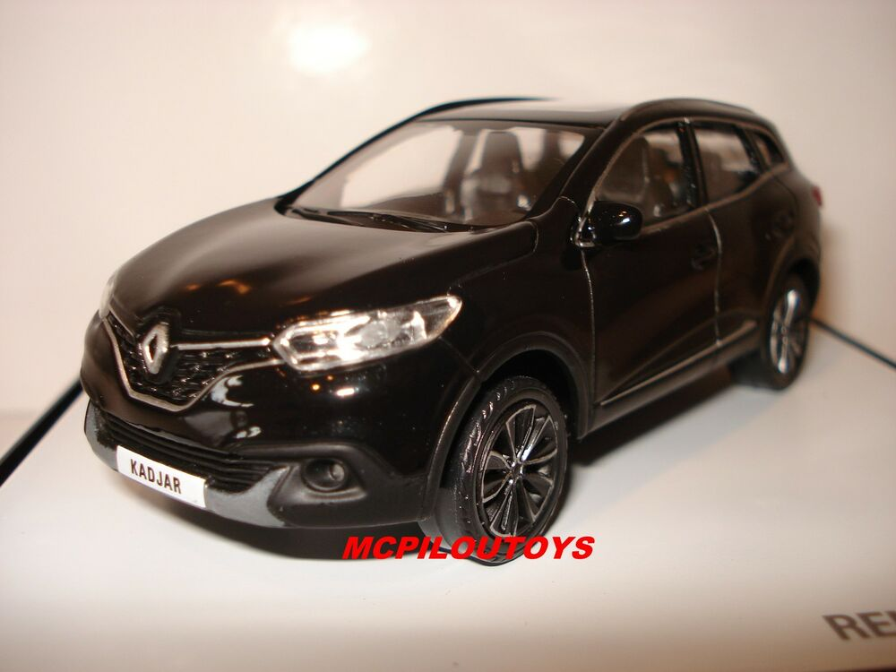 norev renault kadjar suv noir 2015 au 1 43 ebay. Black Bedroom Furniture Sets. Home Design Ideas