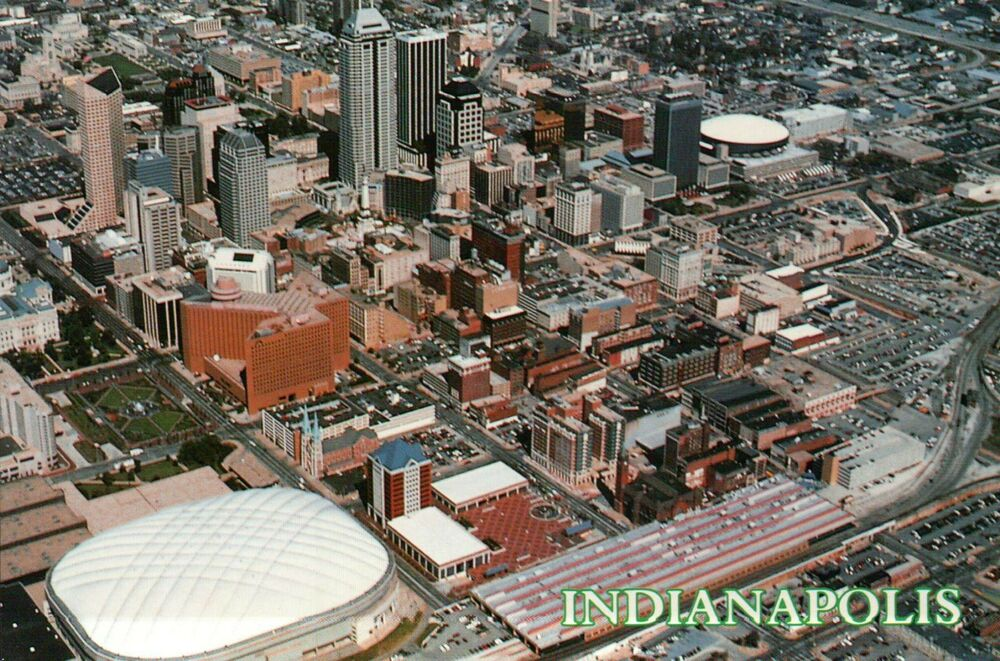 Indianapolis, Indiana, Hoosier Dome, RCA, NFL Football ...