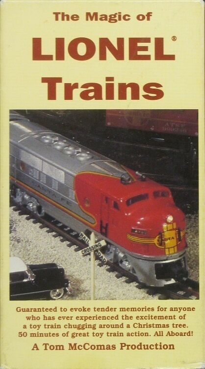 Sell Vhs Tapes >> The Magic of Lionel Electric Trains - VHS Tape 1993 | eBay