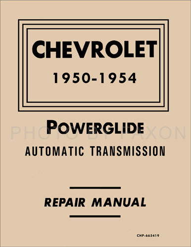 1950 chevy truck shop manual