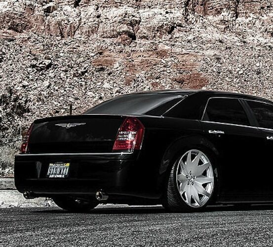 "22"" MRR HR3 Wheels For Chrysler 300 LX 300C SRT8 Concave"