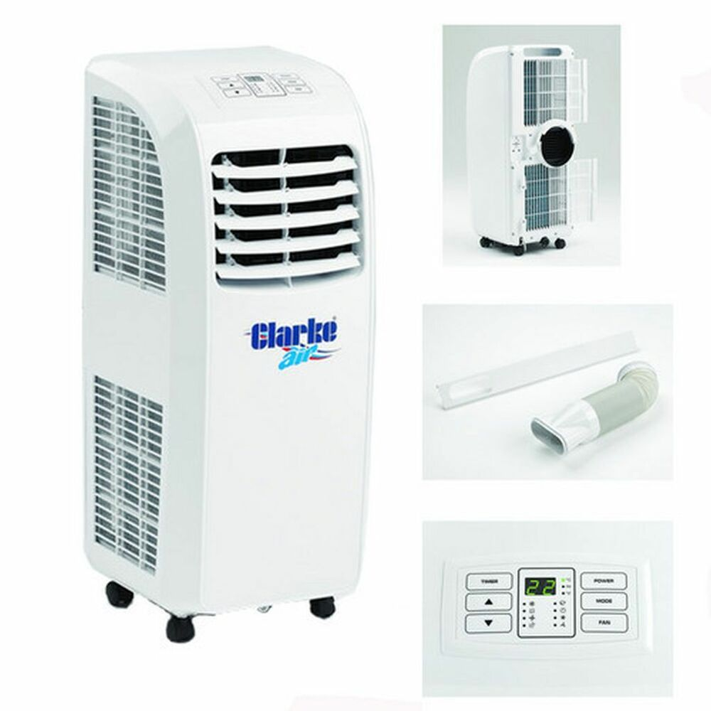 mobile air conditioner dehumidifier 2 speed fan 7000 btu 2kw cooling capacity ebay. Black Bedroom Furniture Sets. Home Design Ideas