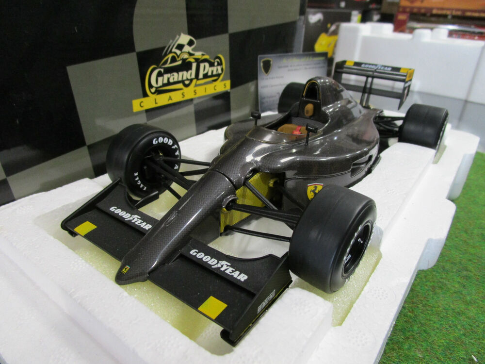 f1 ferrari 641 2 carbon fiber test car 1990 alain prost 1. Black Bedroom Furniture Sets. Home Design Ideas