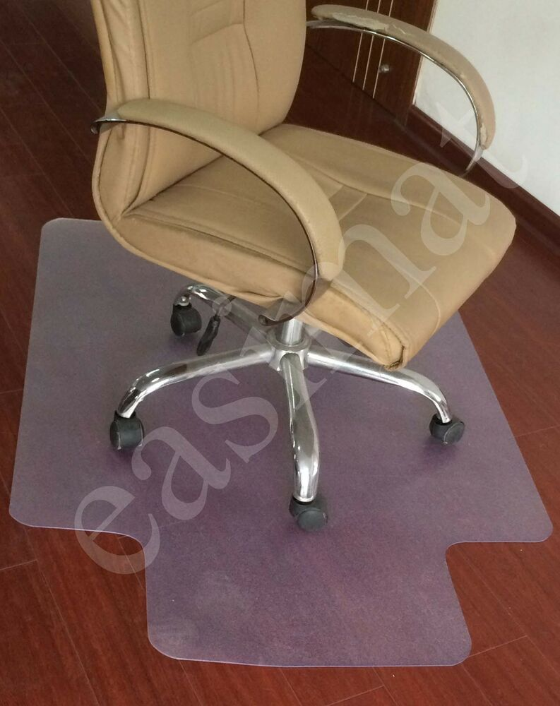 clear pvc floor carpet protector chair mat office home. Black Bedroom Furniture Sets. Home Design Ideas