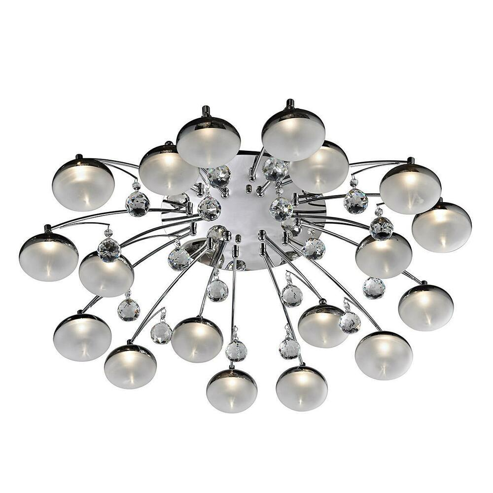 New contemporary 18 light chandelier ceiling pendant light for Modern chandelier lighting fixtures