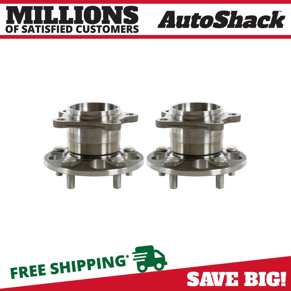 2019 Toyota Camry Hub Bearing Assembly Rear Axle Left: New Pair Left And Right Rear Hub Bearing Assembly Fits