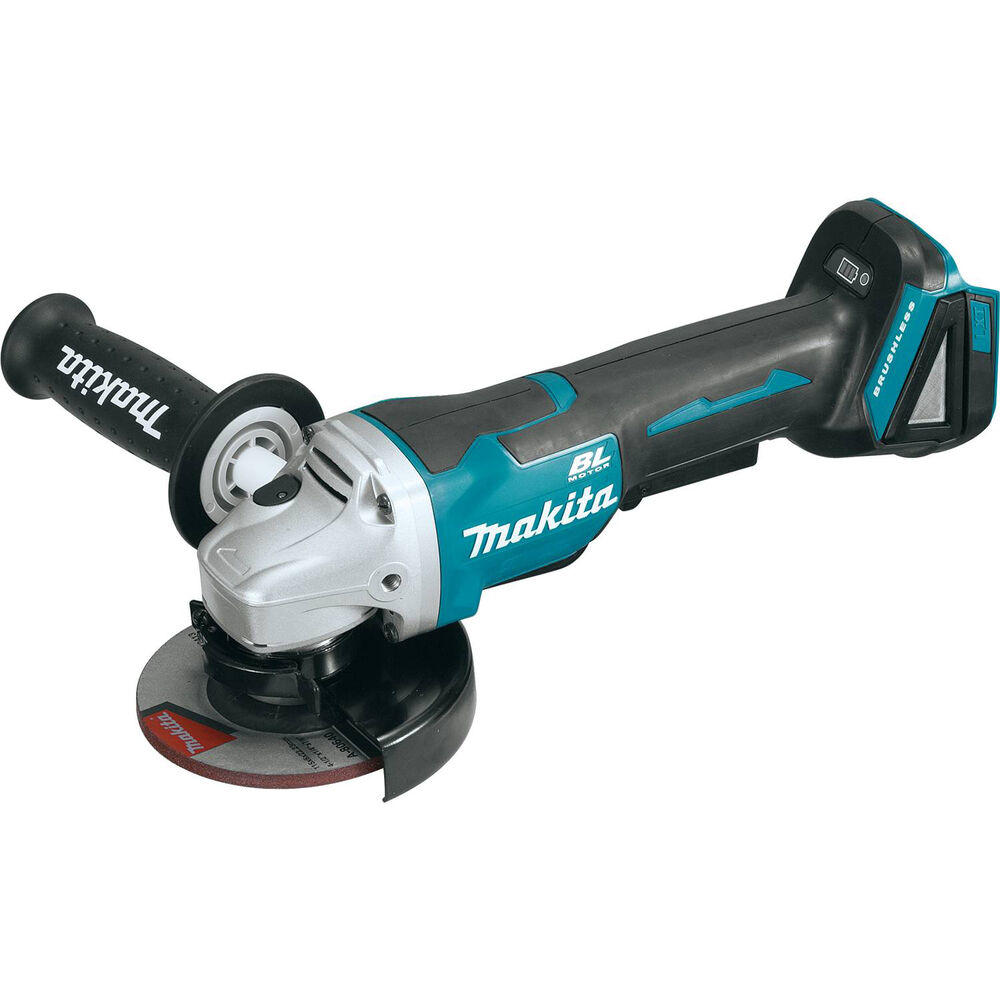 makita xag06z 18v brushless 4 1 2 right angle grinder paddle switch nib retail ebay. Black Bedroom Furniture Sets. Home Design Ideas