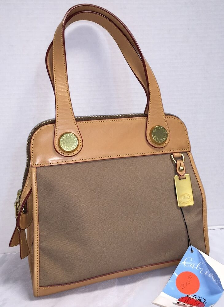 Nwt Vintage Dooney Amp Bourke C322 Cabriolet Carpet Bag Tote