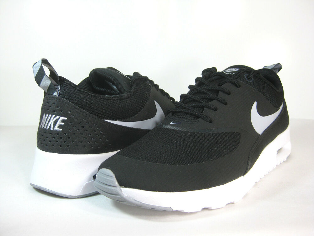 sports shoes 2a8ec 0eccb Details about NIKE WMNS AIR MAX THEA Black Wolf Grey-Anthracite -599409 007-  ATHLETIC
