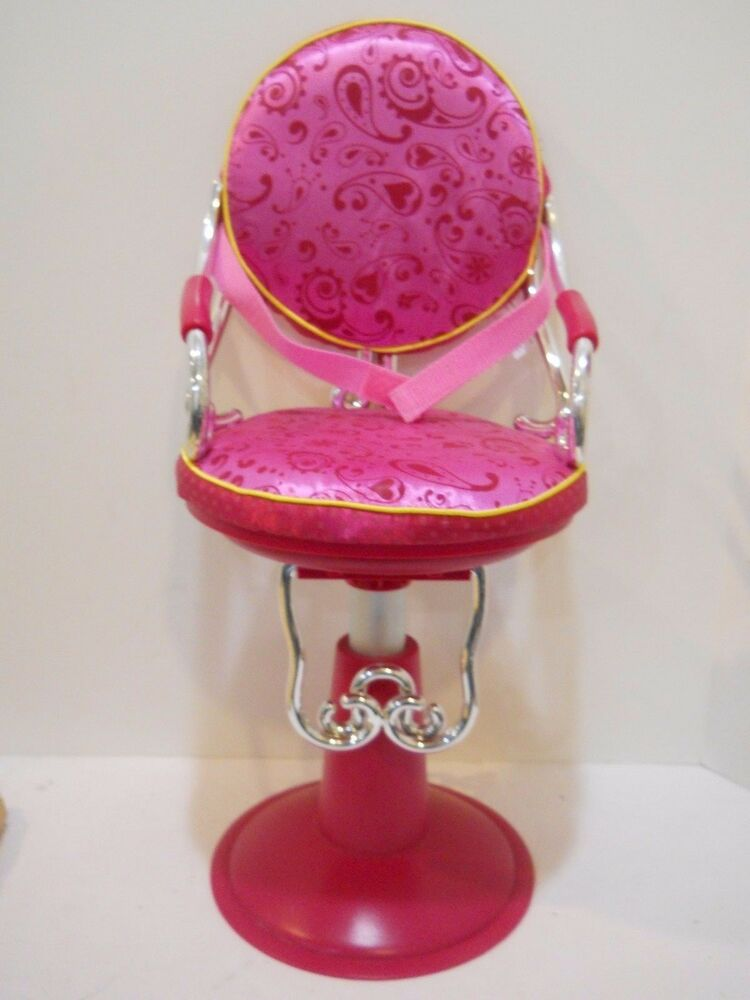 Our Generation Beauty Salon Chair Hot Pink Fits 18 American Girl Battat