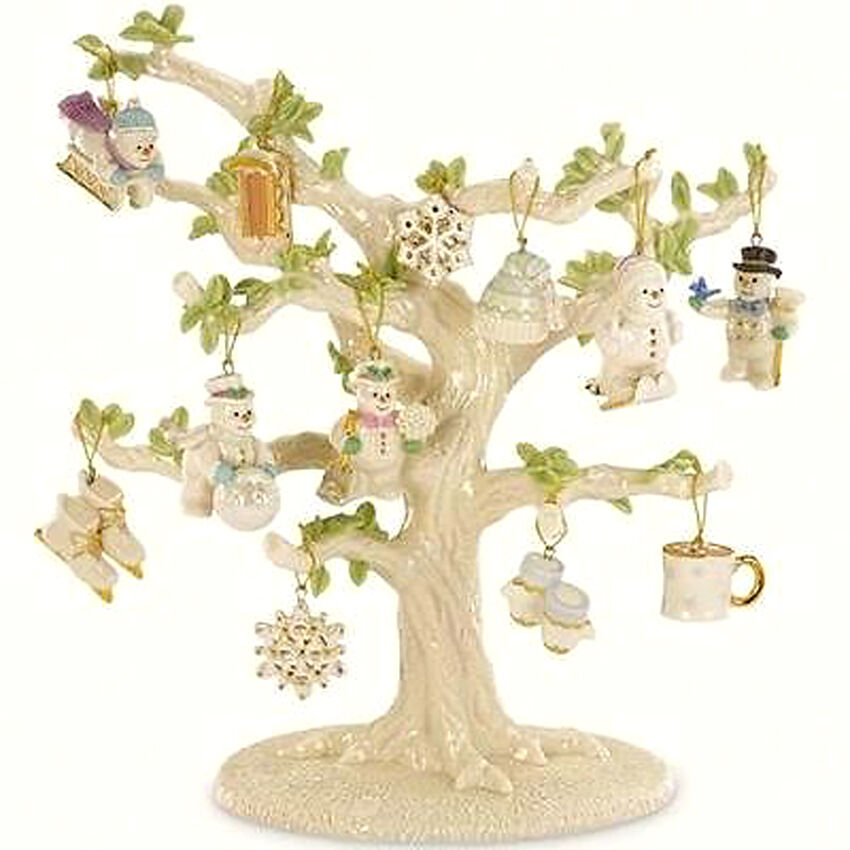 Lenox SNOW PALS Miniature Ornaments 12 Piece Winter Set