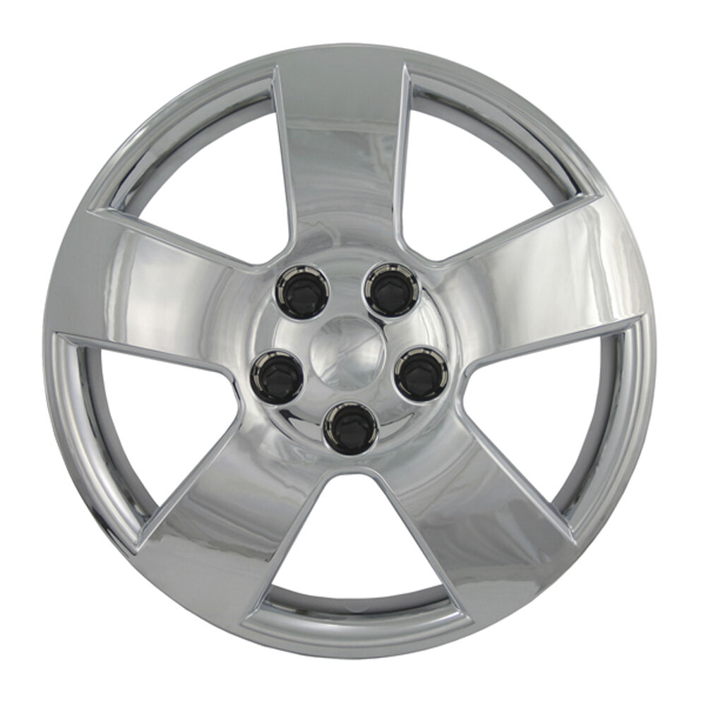 Craftsman Chrome Wheel Covers : Pc new cruze hhr quot chrome bolt on wheel cover hub cap