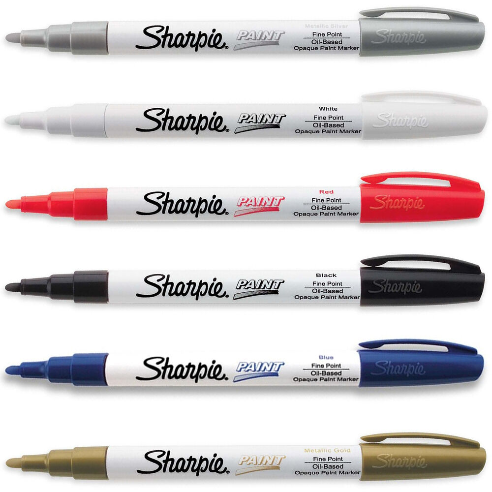 White Color Sharpie