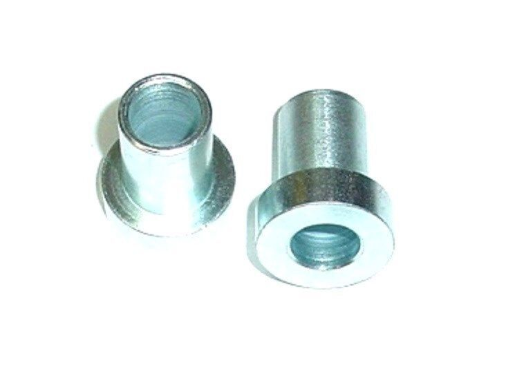 Pack Of 2 Steel Gtb Top Hat Flanged Bushing 1 2 Quot Id X