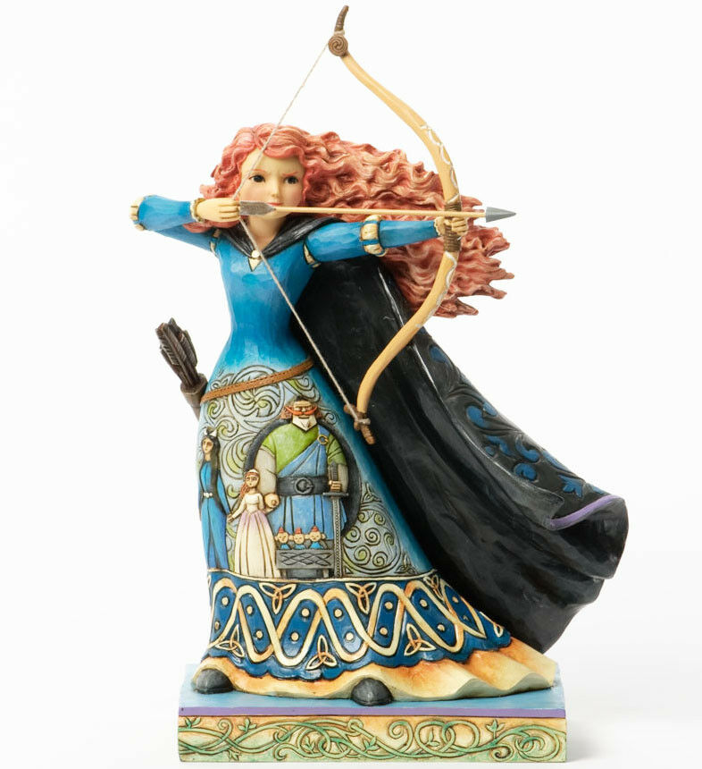 new jim shore disney figurine princess merida bow arrow statue brave quilted art ebay. Black Bedroom Furniture Sets. Home Design Ideas