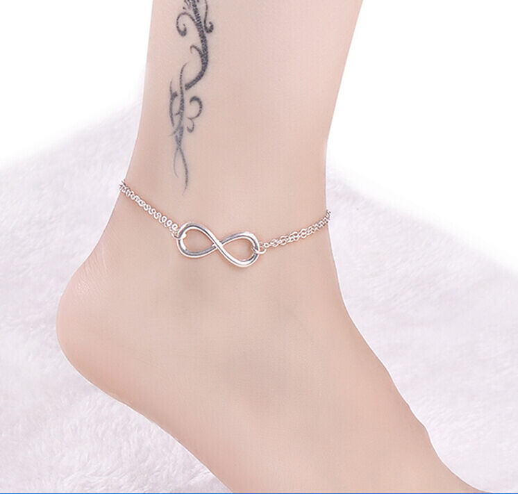1pc Gold Silver Infinity Charm Double Chain Anklet Foot. Love Knot Earrings. Flowery Engagement Rings. Iso 6425 Watches. Celestial Engagement Rings. Charlotte Chesnais Earrings. String Anklet Bracelets. Bead String Bracelet. Infinite Engagement Rings