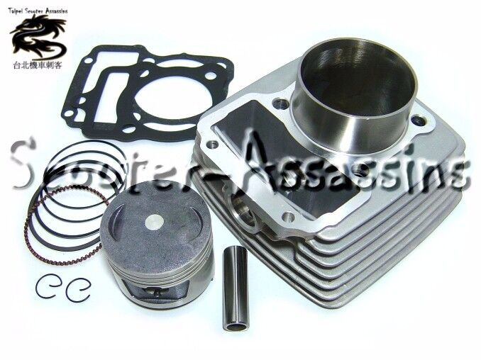 150cc big bore kit for kymco zing 125 ebay. Black Bedroom Furniture Sets. Home Design Ideas