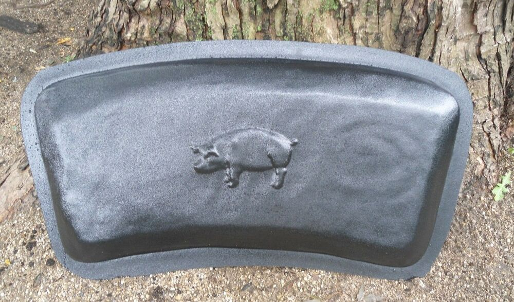 Gostatue Pig Bench Top Abs Plastic Mold 1 8th Plastic Bench Top Concrete Mold Ebay